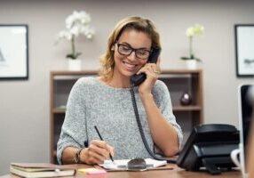 Voice mail tip